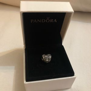 PANDORA Opencut Heart and CZ Flower Charm!